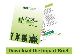Download the USF Textbook Affordability Project Impact Brief
