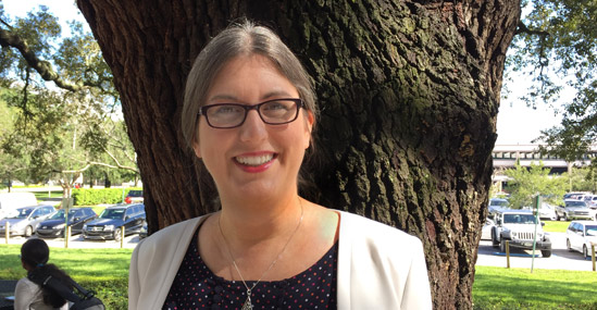 Carol Ann Borchert, Director of the Digital Scholarship Services unit